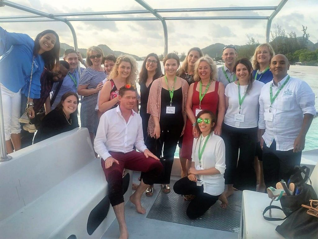UK Representatives on the Sunset Cruise